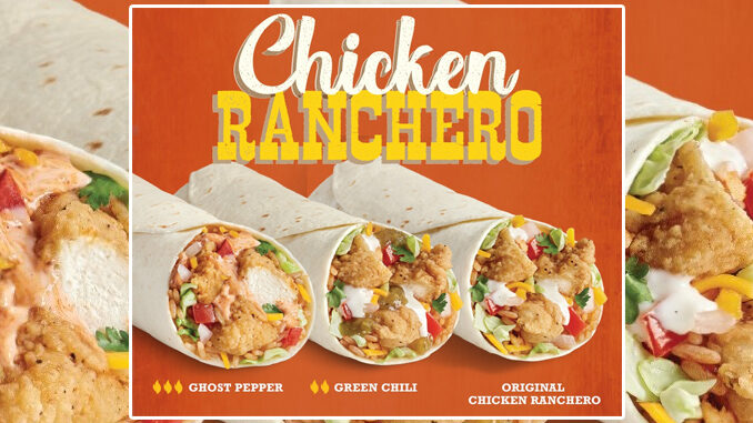 TacoTime Introduces New Chicken Ranchero Burrito Lineup