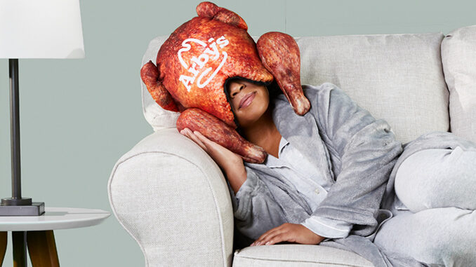 Arby's Just Dropped A Deep Fried Turkey Pillow