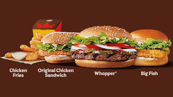 Burger King Offers New Make It A Meal For $10 Deal