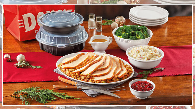 Denny's Offers Order Ahead Turkey & Dressing Dinner Packs Through November 25, 2020