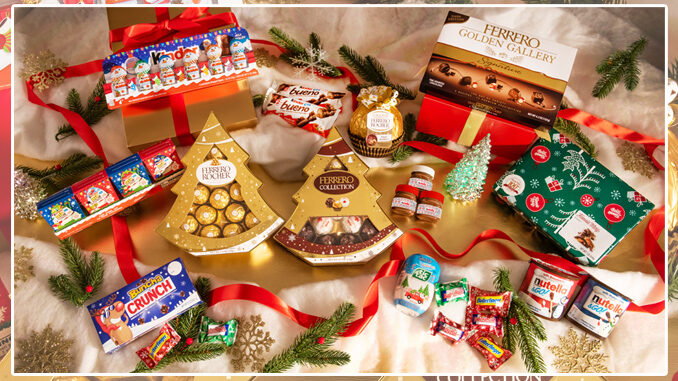 Ferrero Reveals New 2020 Seasonal Holiday Products Lineup