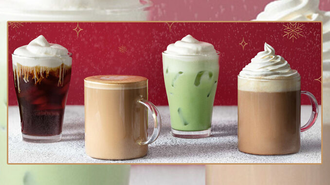 Peet's Debuts Two New Snowcap Beverages As Part Of New 2020 Holiday Menu