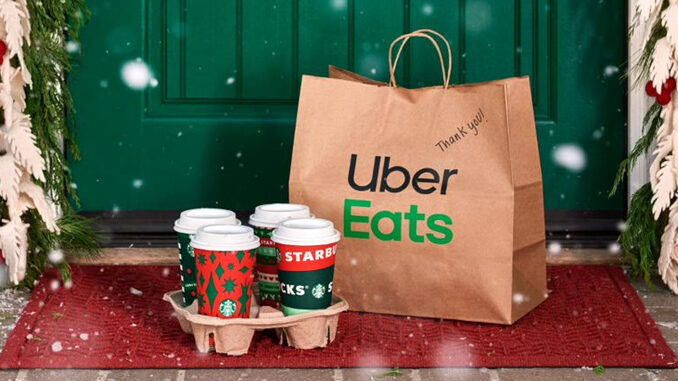 Starbucks Launches 'Deliver It Forward' Promotion With Uber Eats
