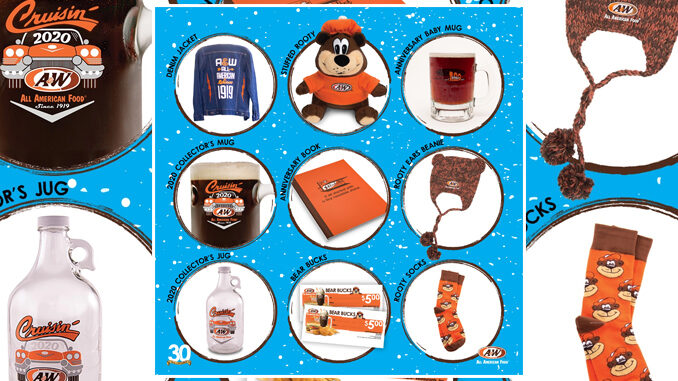 A&W Is Giving Away Prize Packs As Part Of '30 Days Of Giveaways 2020' Promotion Through December 31, 2020