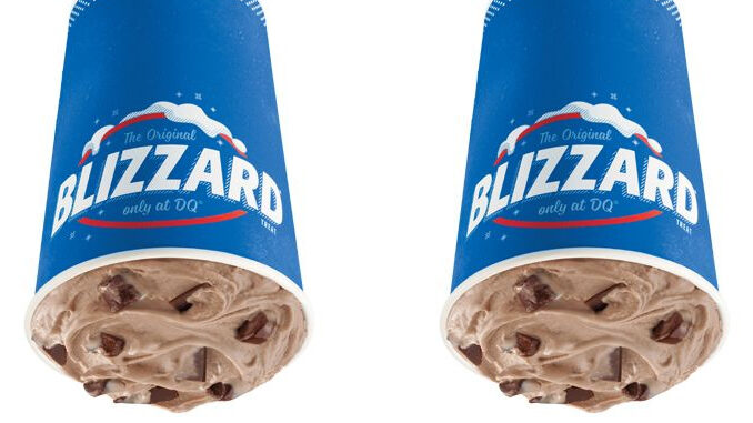 The Brownie Dough Blizzard Is The January 2021 Blizzard Of The Month At Dairy Queen