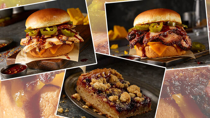 Dickey's Adds New Spicy Chicken Sandwich, Spicy Brisket Sandwich And Double Berry Cobbler Dessert