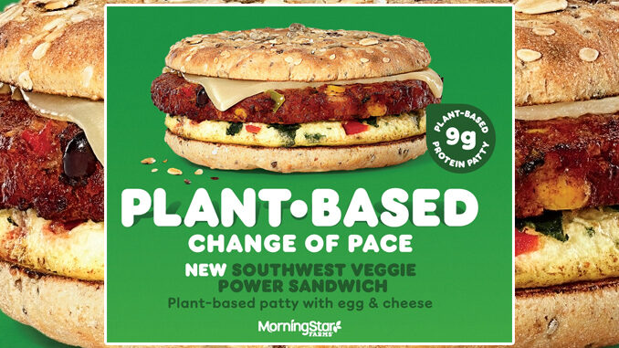 Dunkin' Adds New Southwest Veggie Power Breakfast Sandwich