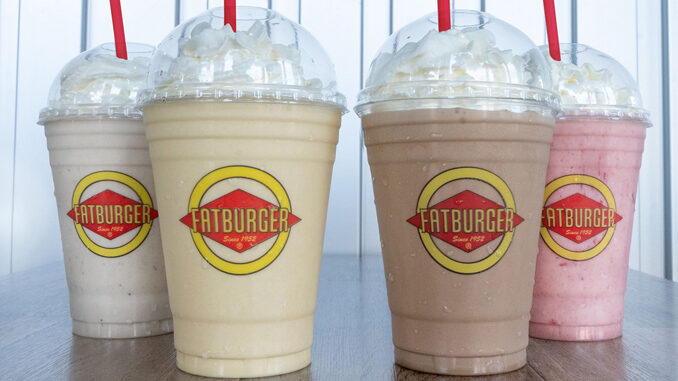 Fatburger Spins New Chocolate, And Maui Banana Vegan Shakes