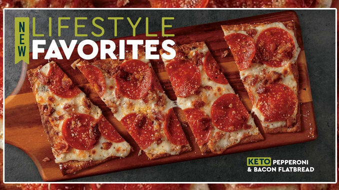 Fazoli's Bakes Up New Keto-Friendly Pepperoni & Bacon Flatbread