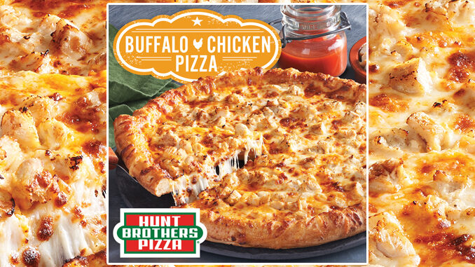 Hunt Brothers Pizza Brings Back Buffalo Chicken Pizza