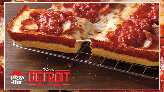 Pizza Hut Debuts New Detroit-Style Pizza Nationwide