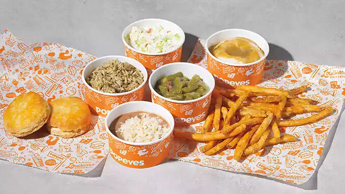 Popeyes Permanently Removes Cajun Rice And Green Beans From National Menu