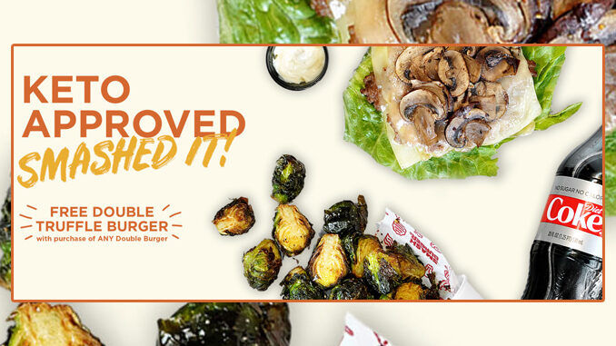 Smashburger Offers Free Double Truffle Burger With Any Double Burger Purchase On January 5, 2021