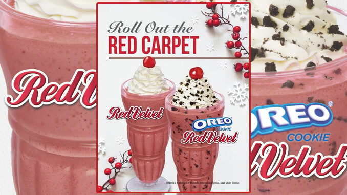 Steak 'n Shake Welcomes Back Red Velvet Shakes