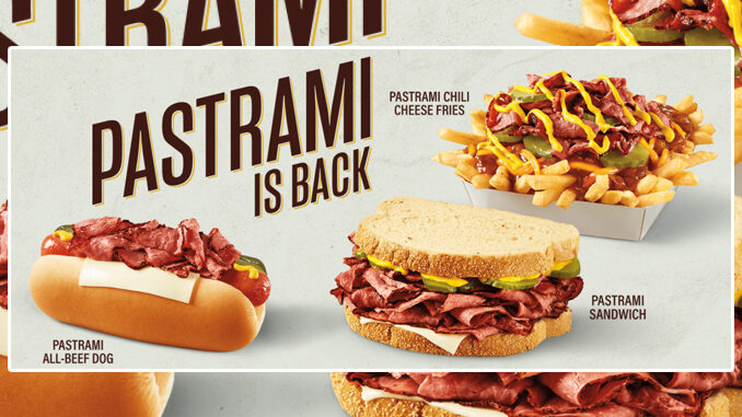 Wienerschnitzel Welcomes Back Pastrami For A Limited Time