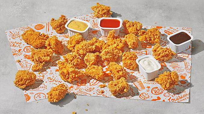 Chicken Nuggets Spotted Select Popeyes Locations