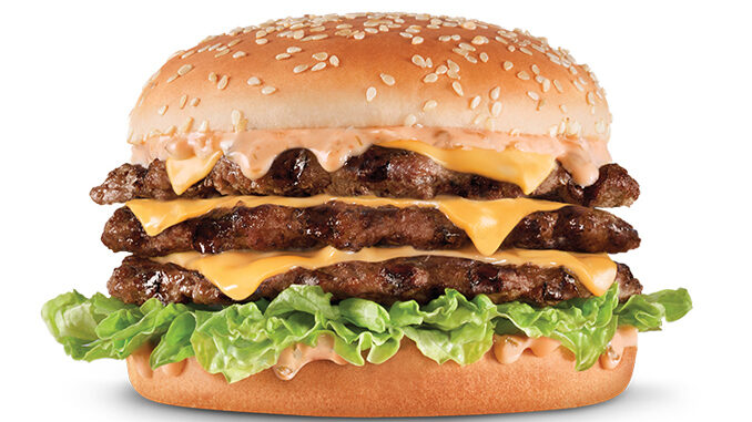 Hardee's Launches 'New' Really Big Hardee
