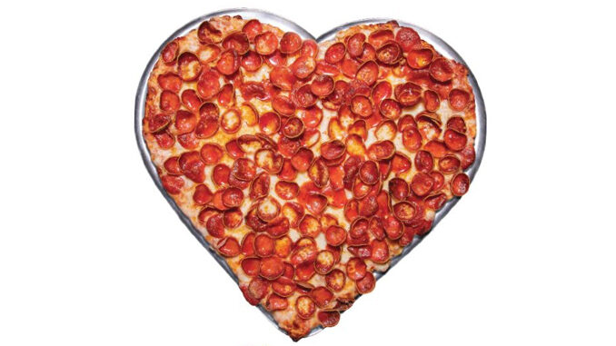 Mountain Mike's Welcomes Back Heart-Shaped Pizzas For 2021 Valentine's Season