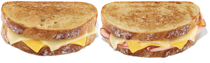 New Grilled Cheese Melts