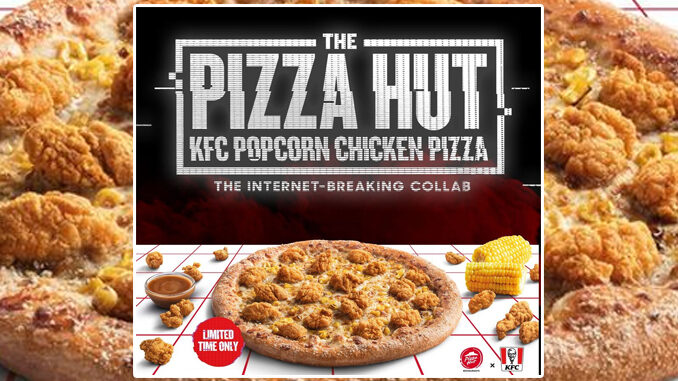 Pizza Hut Brings Back KFC Popcorn Chicken Pizza In The UK
