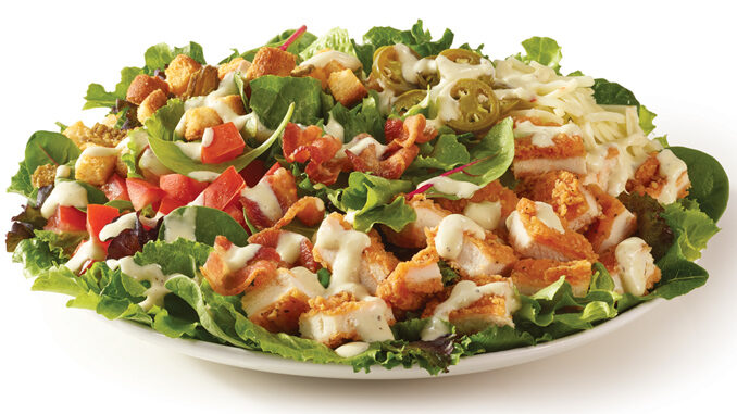 Wendy's Tosses New Jalapeño Popper Salad