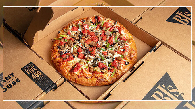 BJ's Offers Half-Off All Large Pizzas For Takeout Or Delivery On March 14, 2021