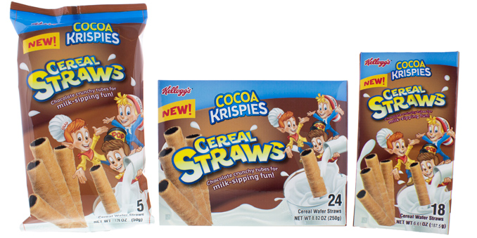Cocoa Krispies Cereal Straws
