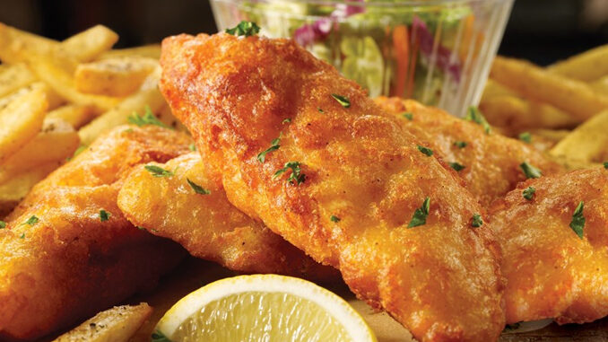 Fish And Chips Are Back At TGI Fridays For 2021 Seafood Season