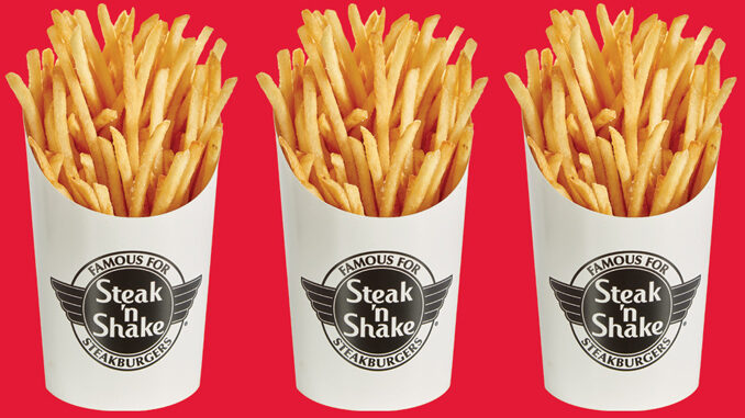 Free Fries At Steak 'n Shake For A Limited Time – No Purchase Necessary