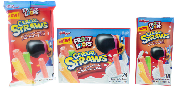 Froot Loops Cereal Straws