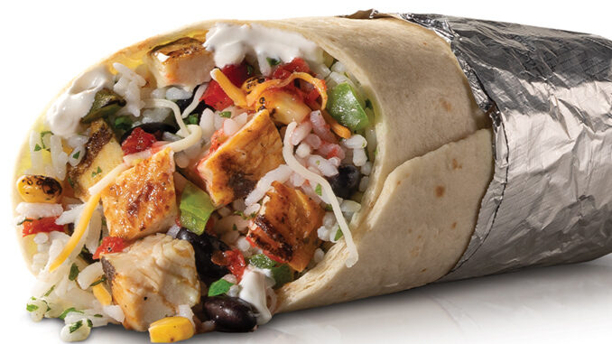 Get A Grilled Chicken Boss Burrito Or Bowl For $5 Via The Taco John's App On April 1, 2021