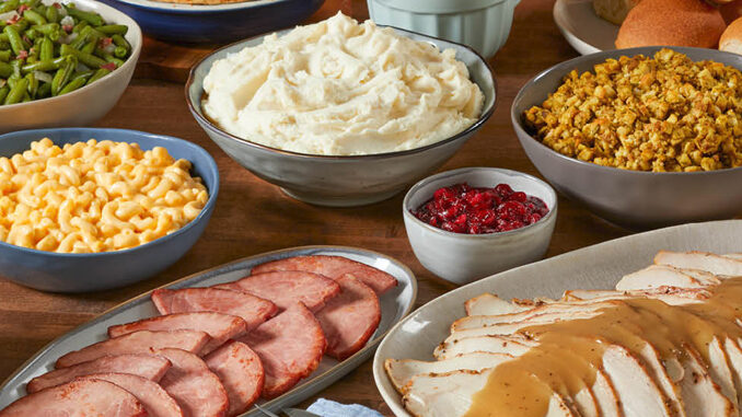 Heat-And-Serve Easter Feasts Are Back At Bob Evans For 2021