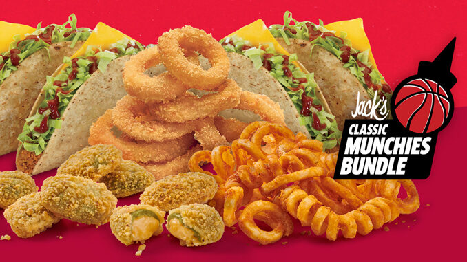 Jack In The Box Puts Together $10 Classic Munchies Bundle Through April 4, 2021