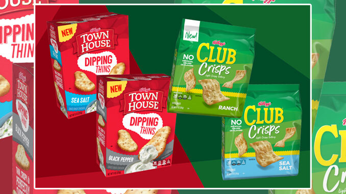 Kellogg's Bakes Up New Club Crisps And New Town House Dipping Thins