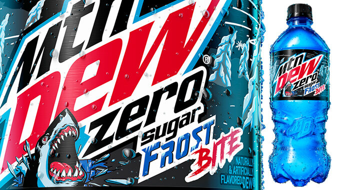 New Mountain Dew Frost Bite Zero Sugar Available Exclusively At Walmart Starting March 22, 2021