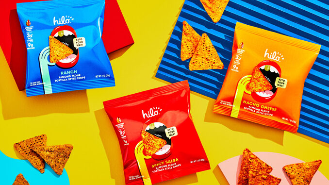 PepsiCo Launches Keto-Friendly Tortilla Chips Under The Hilo Life Brand