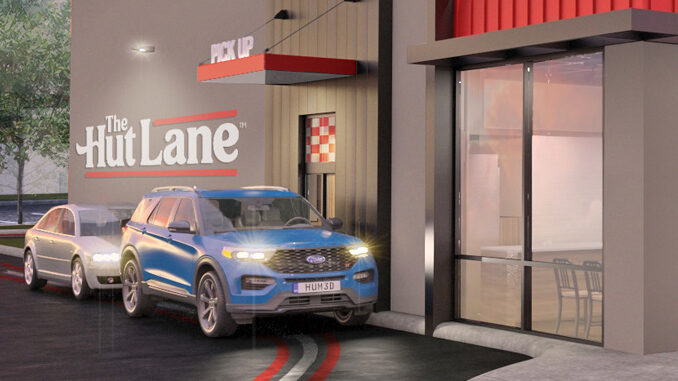 Pizza Hut Launches The Hut Lane - A Dedicated Digital Order Pick-Up Window