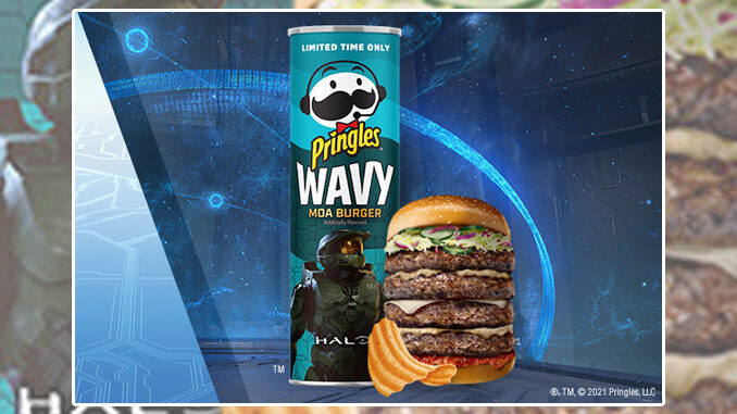 Pringles Launches New Halo-Inspired Wavy 'Moa Burger' Flavor