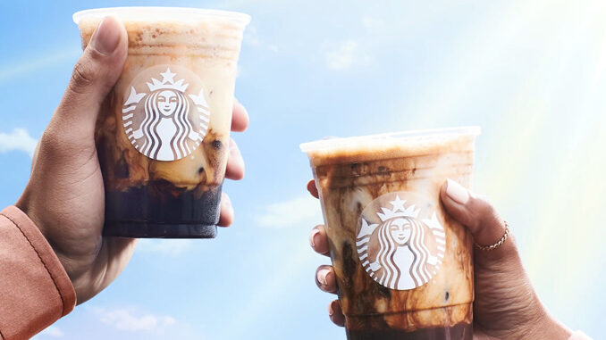 Starbucks Debuts 2 New Plant-Based Iced Shaken Espresso Drinks As Part Of Larger 2021 Spring Lineup