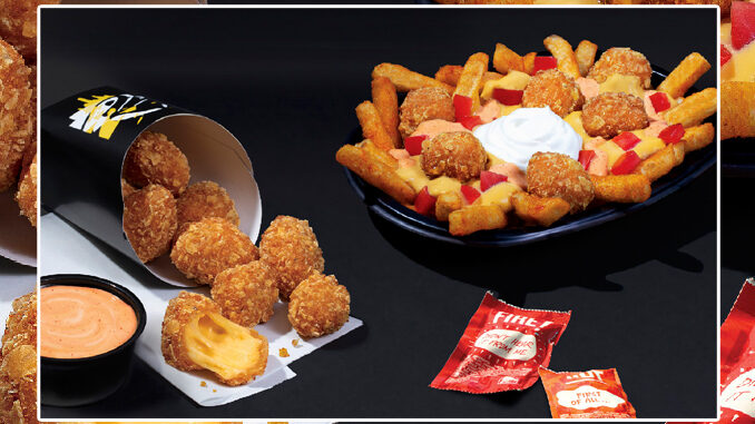 Taco Bell Is Testing New Crispy Cheese Dippers & Crispy Cheese Nacho Fries