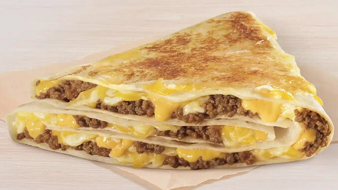 Taco Bell Is Testing New Grilled Cheese Stackers