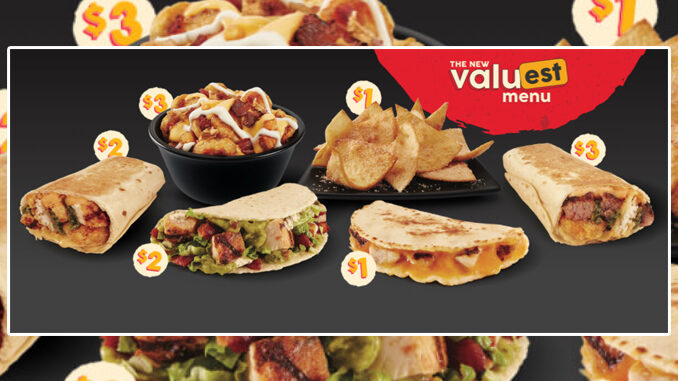 Taco John's Launches New ValuEST Menu Nationwide