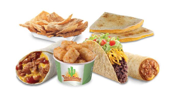 TacoTime Puts Together 4 For $6.95 Deal