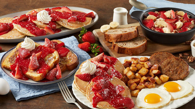 Bob Evans Puts Together New Line Of Seasonal Farm-Fresh Berry Dishes