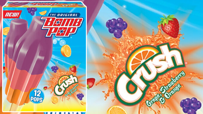 Bomb Pop Introduces New Crush Soda-Flavored Ice Pops