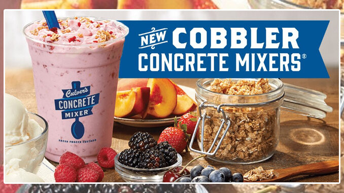 Culver's Introduces New Cobbler Concrete Mixers