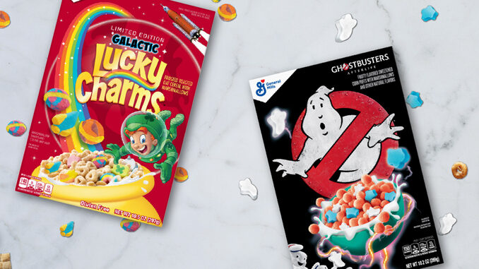 General Mills Introduces New Ghostbusters And Lucky Charms Galactic Cereals
