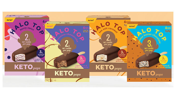 Halo Top Introduces New Keto Pops - Adds 3 New Keto Pint Flavors