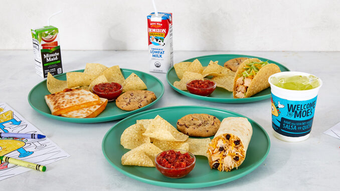 Kids Eat Free At Moe's With Adult Entree Purchase Every Sunday Starting April 18, 2021