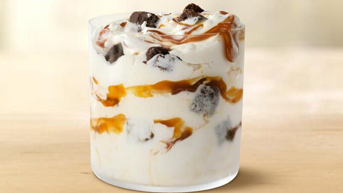 McDonald's Offers Free Caramel Brownie McFlurry In The App On May 4, 2021.